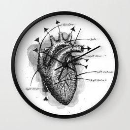 Life Pump Wall Clock