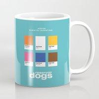 reservoir dogs Mugs featuring Reservoir Dogs by Rahma Projekt