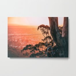 Beautiful Spring Sunset Metal Print