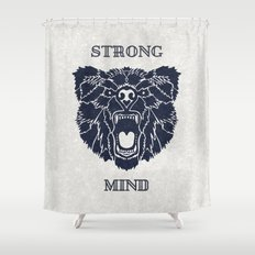 Strong Mind Shower Curtain