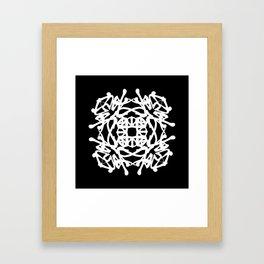 JAPANESE KANJI ART (KAKUMEI=REVOLUTION) by AKIRA Framed Art Print