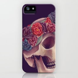 Memento Flori iPhone Case