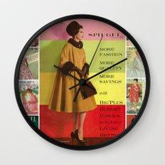 1961 Fall/Winter Catalog Cover Wall Clock