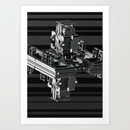 Mechanical 5 Art Print