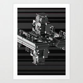 Mechanical 5 Art Print