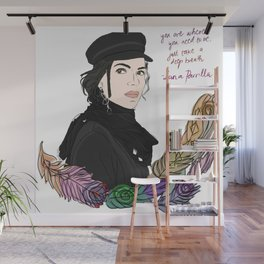 Lana Parrilla Feathers of Hope Wall Mural