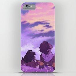 Stargazing Klance iPhone Case