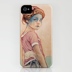 Within White iPhone (4, 4s) Slim Case