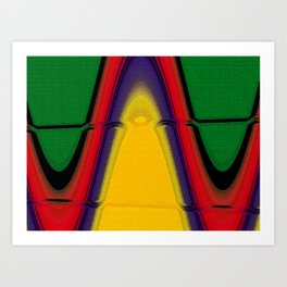 Abstract10 Art Print