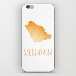 Saudi Arabia iPhone Skin