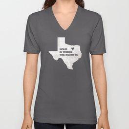 Home - Texas Unisex V-Neck