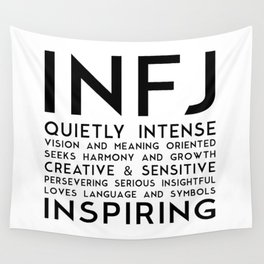 INFJ Wall Tapestry