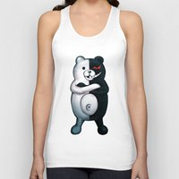 dangan ronpa Tank Tops featuring Monobear by Prince Of Darkness