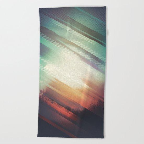 Fall Beach Towel