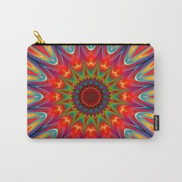 Colors kaleidoscope pattern Carry-All Pouch
