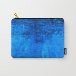 In liquid Indigo Carry-All Pouch