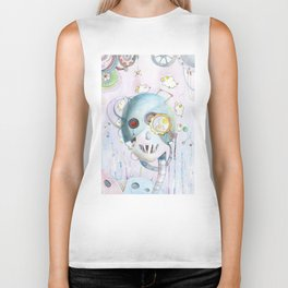 Androids Dream of Electric Sheep Biker Tank