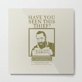 [ Les Miserables ] Jean Valjean Hugh Jackman Mis Metal Print