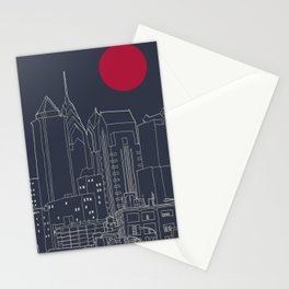 Philly Blueprint Stationery Cards