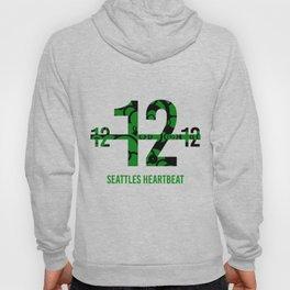 Seattle's Heart beat Hoody