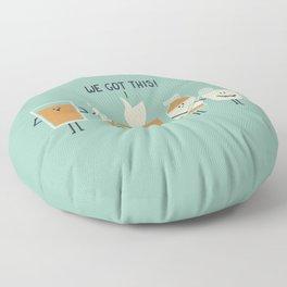 Flu Fighters Floor Pillow