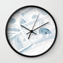 Time and Money Wall Clock