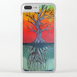 Life Above and Below Clear iPhone Case