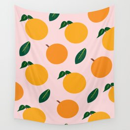 Oranges or Peaches? Wall Tapestry