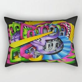 One Track Mind Rectangular Pillow