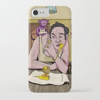 egg iPhone & iPod Cases featuring Egg by Lee Grace Design and Illustration