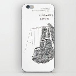 Childhood's garden iPhone Skin
