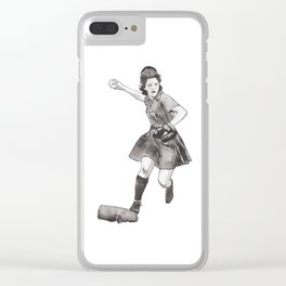 Irene Ruhnke Clear iPhone Case