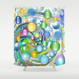 Color-Balls Shower Curtain