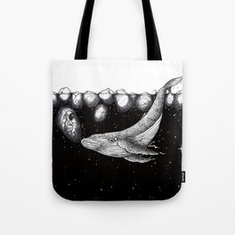 ice space Tote Bag