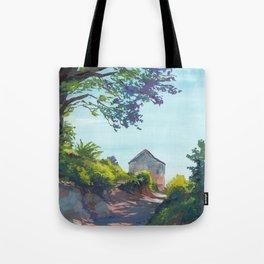 Beachhouse Path Tote Bag