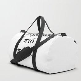 Greeks two Duffle Bag