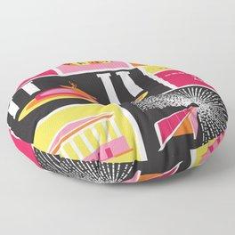 Dedicated To Art  Floor Pillow