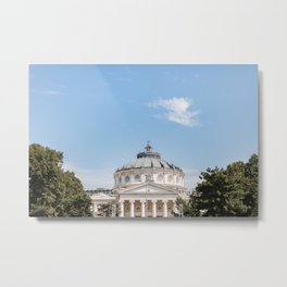 Roumania, Romanian Athenaeum, Bucarest Metal Print