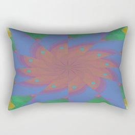 Omen of Brilliance Abstract - Rectangular Pillow