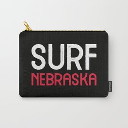 Surf Nebraska Carry-All Pouch