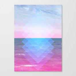 Sea Diamonds Canvas Print