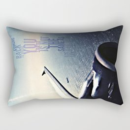 coming back v. more sky, android case Rectangular Pillow