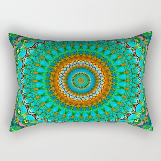 Geometric Mandala G388 Rectangular Pillow
