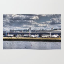 London city Airport Rug