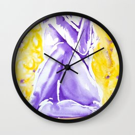 Yogi Twist Wall Clock