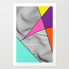 Vibrating Star Catalyst Art Print