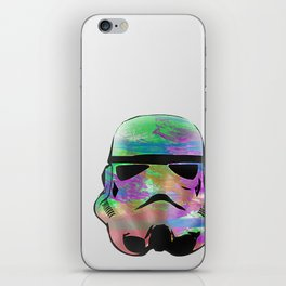 Colourful Stormtrooper iPhone Skin