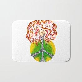 Peace Tree Bath Mat