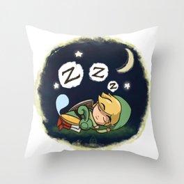 Minish-Nap Throw Pillow