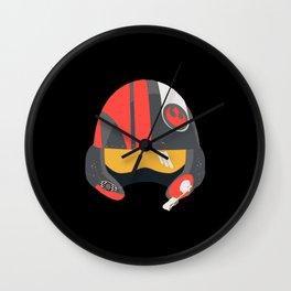 Rebel Helmet - Resistance Wall Clock